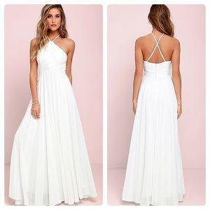 Lulu's Everlasting Enchantment Ivory Dress